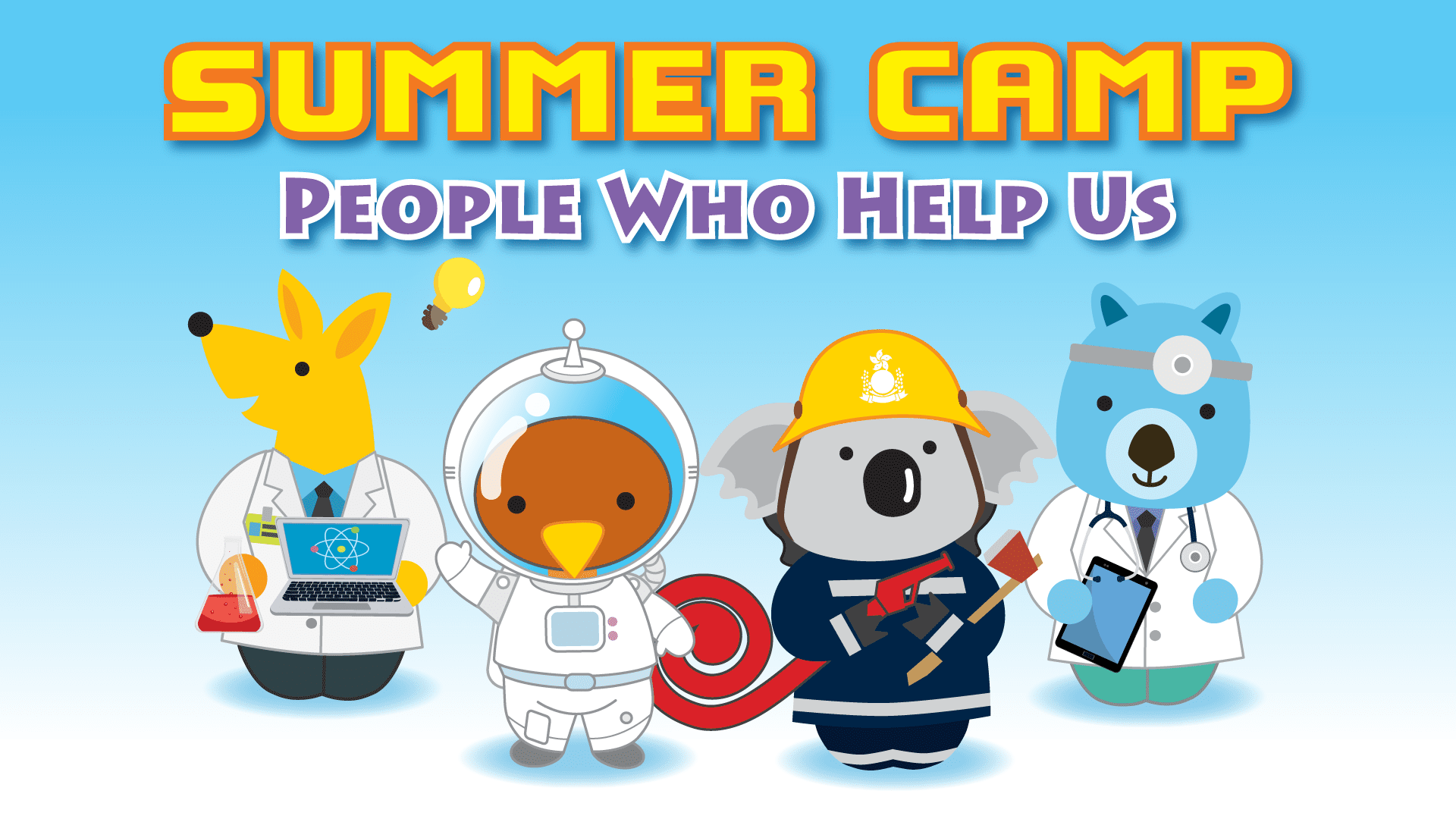 Summer Camp: People Who Help Us