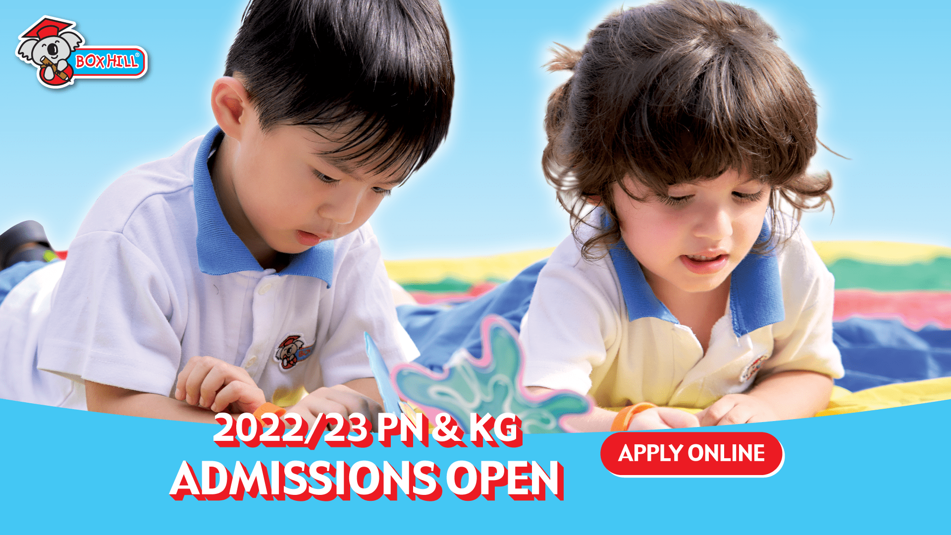 Applications Open for Nursery and Kindergarten for 2022 – 2023