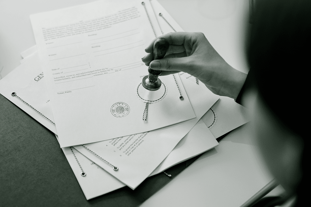 Do I need a Notarial Certificate?