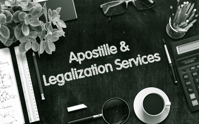 What is the difference between notarization, apostille and legalization?